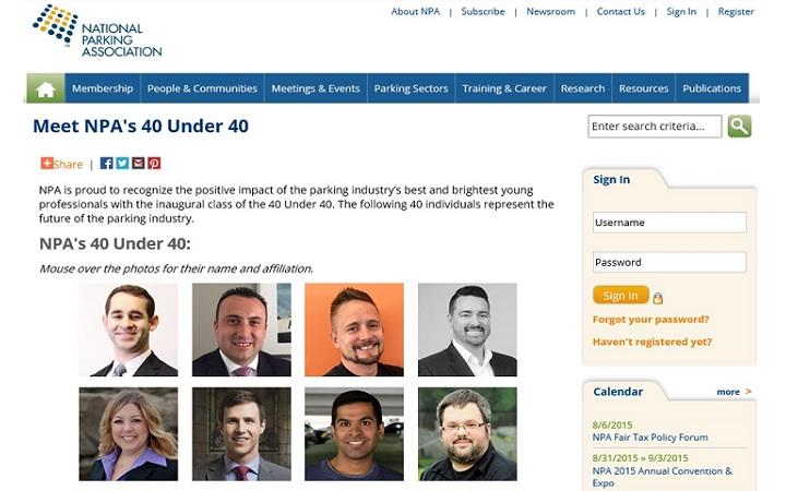 NPA 40 Under 40