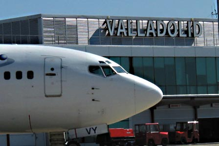 Valladoid airport parking
